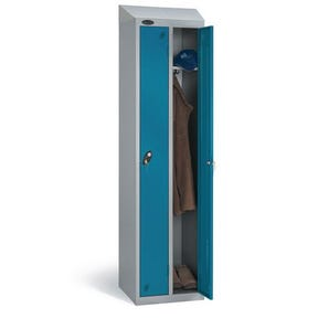 Probe twin lockers with sloping top