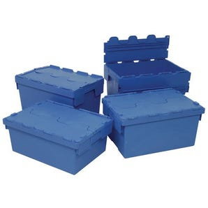 Budget attached lid containers