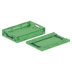 Returnable folding containers
