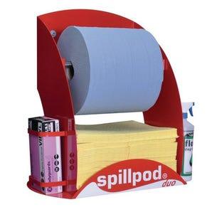 Worktop spill response station