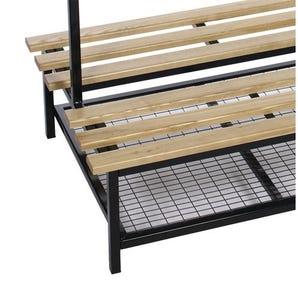 Shoe rack accessory only for Evolve duo cloakroom bench