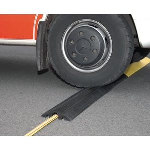 Heavy duty modular small cable/hose protector