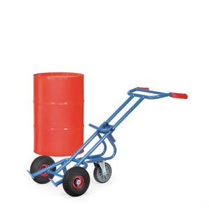 Fetra drum truck for steel drums