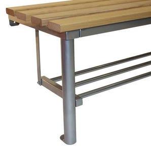 Club mono bench shoe rack