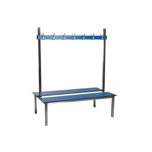 Aqua duo laminate cloakroom bench