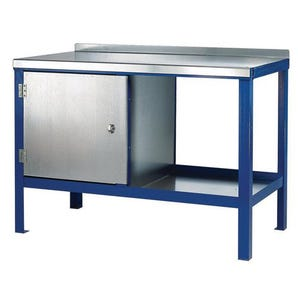Heavy duty benches with galvanised tops