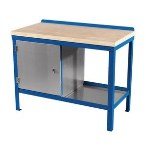 Heavy duty benches with 45mm solid wood tops