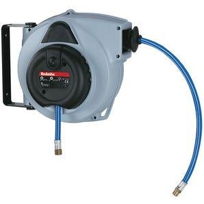 Spring rewind polypropylene compressed air hose reels