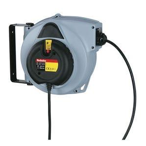 Medium duty spring rewind cable reels