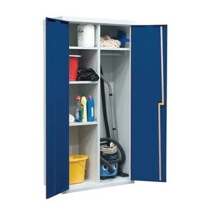 Standard and extra wide utility cupboards