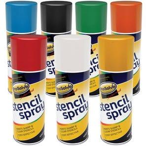 Prosolve™ stencil spray paint