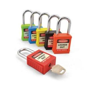 Safety lockout padlocks
