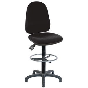 High back draughter chair