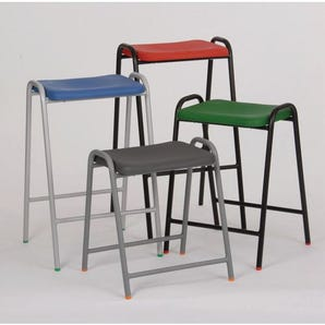 Flat top stool