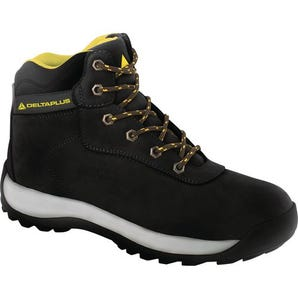 Nubuck leather hiker safety boots