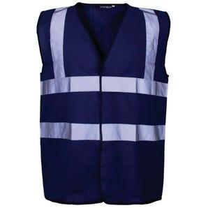 Coloured high vis vest