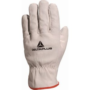 Cowhide full grain leather drivers gloves