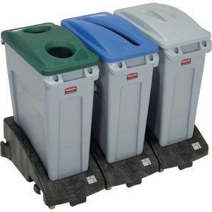 Rubbermaid Slim Jim recycling bins