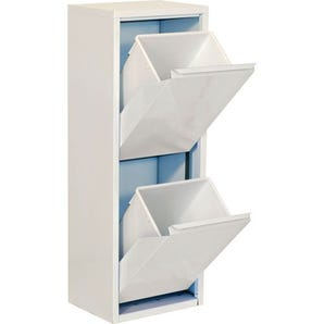 Steel cupboard with tilting drawers