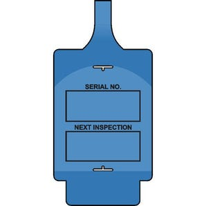Standard asset tags - Inspection style A