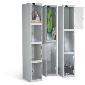 Probe clear door lockers