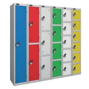Probe keyless coloured premium lockers with combination lock