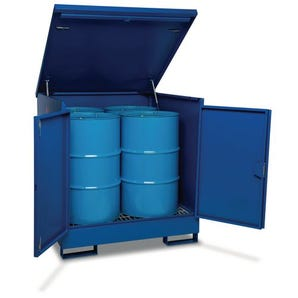 Armorgard Secure drum storage depot