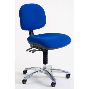 Low static dissipative fully ergonomic heavy duty 160KG/ 25 stone chair