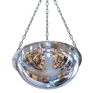 Premium hemispherical full dome mirror