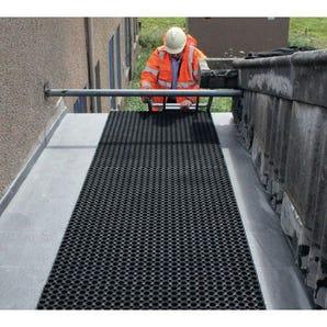 Budget rubber duckboard walkway matting