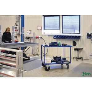 Konga heavy duty table top trolley