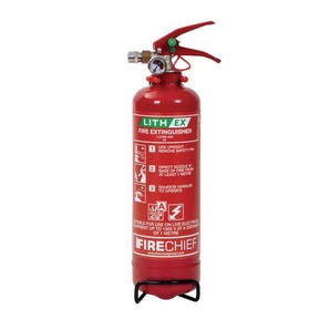 Lithium battery fire extinguishers