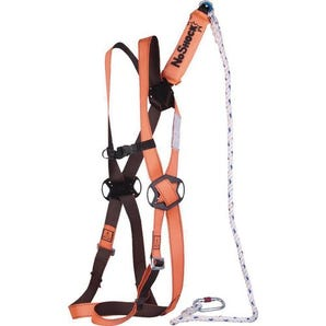 Ready to use working at height fall arrest kit