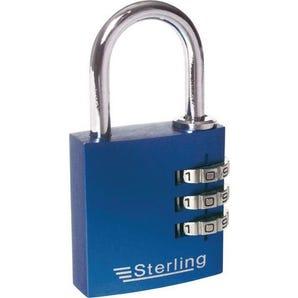 Aluminium combination padlock