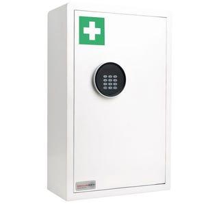 Electronic medicine cabinet