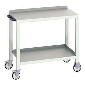 Bott heavy duty workbench - Static;Bott heavy duty welded workbench - mobile