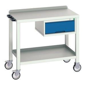 Bott heavy duty welded workbenches - Workbench with drawer
