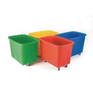 Container trucks without lids