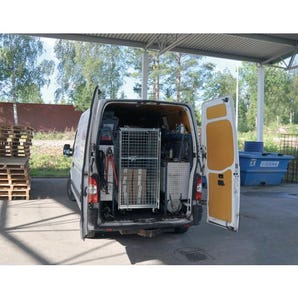 Konga van height security roll containers