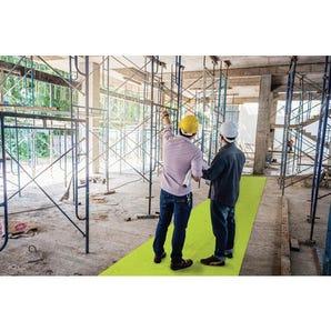 High visibility safety walkway matting
