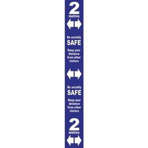 Floor distance markers - Rectangular