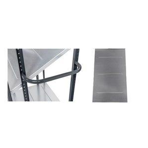Konga multi-positional steel shelf trolley accessories