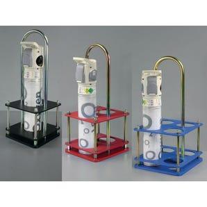 Oxygen cylinder carriers for 100mm dia. bottles