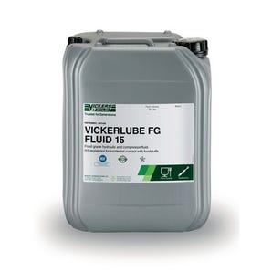 Vickerlube FG Fluid – available in ISO VG 15, 22, 32, 46, 68 and 100 (20 litre)
