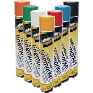 Prosolve™ temporary linemarking spray paint
