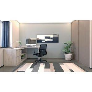 Comprehensive home desk and storage system