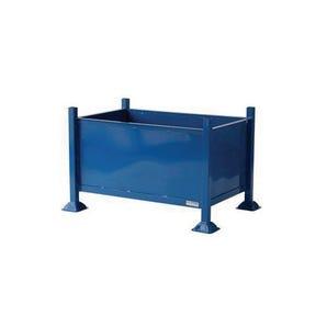 Sheet steel box pallet