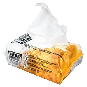 Ultra grime industrial wipes pk 100