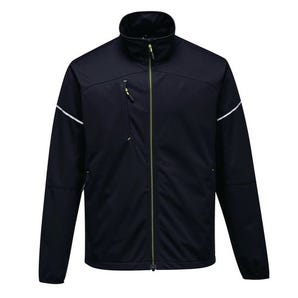 Water resistant shell jacket