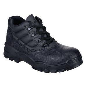 Black steelite safety boots - S1P